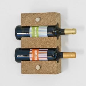 2 btl cork rack